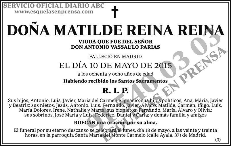 Matilde Reina Reina